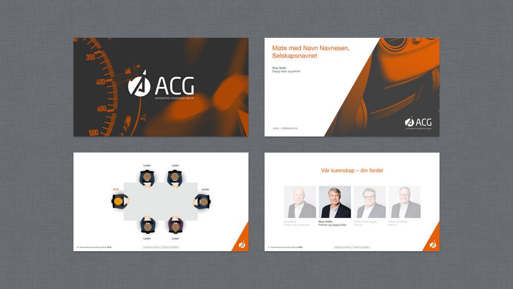 ACG selskapspresentasjon