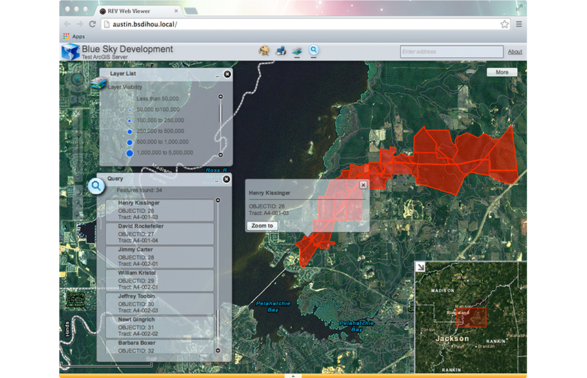 REV Online Web Viewer for Pipeline Midstream