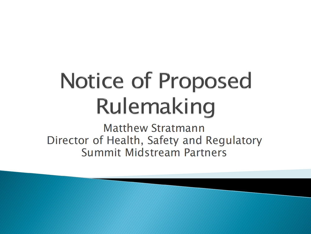 notice-of-proposed-rulemaking