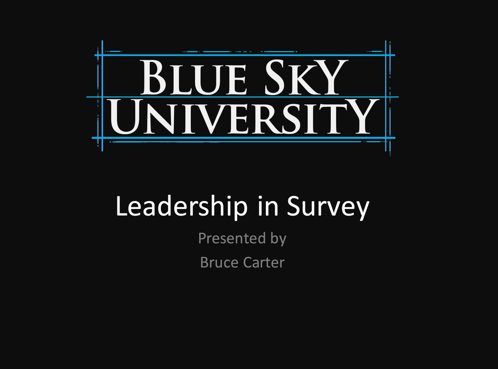Leadership in Survey