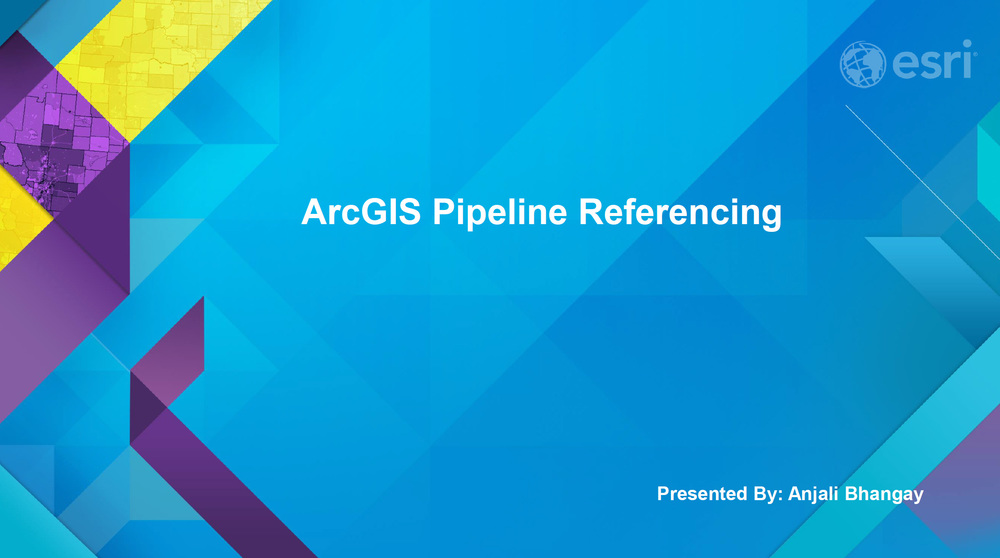 ArcGIS Pipeline Referencing