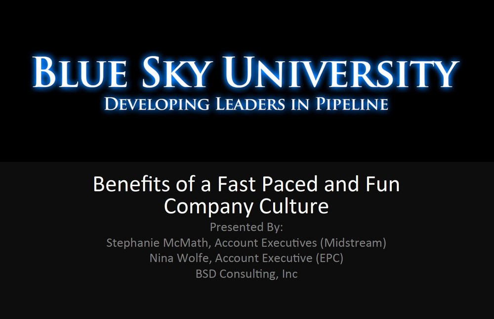 Benefits of a Fast Paced and Fun Company Culture