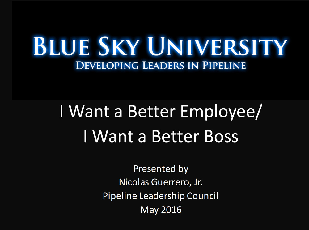 I Want a Better Employee / I Want a Better Boss