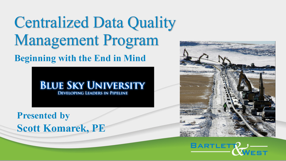 Centralized Data Quality Management Program