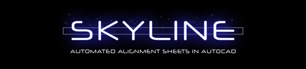 skyline alignment sheet generation software tool autocad cad.png