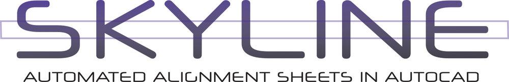 skyline alignment sheet generation software tool autocad cad