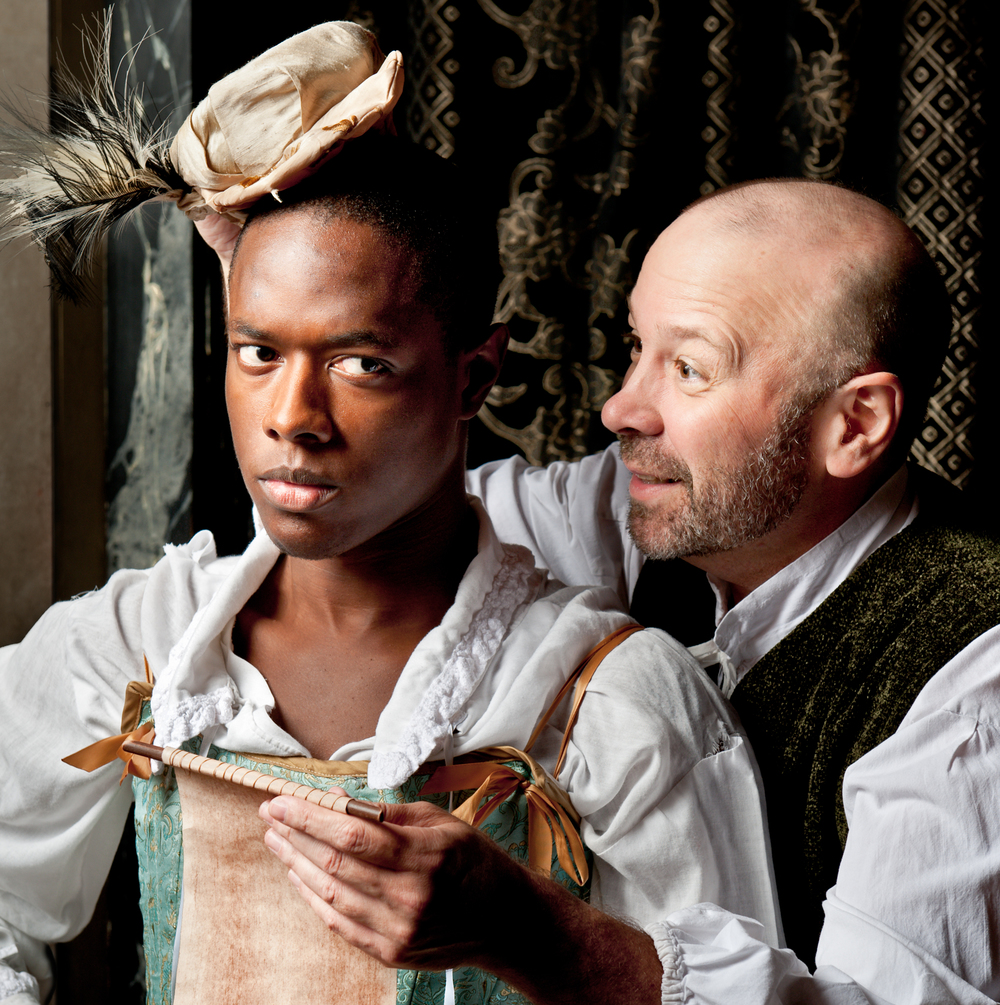 Photo: Michael Bailey for American Shakespeare Center's 2011/12 Almost Blasphemy Tour