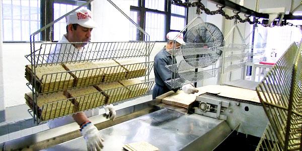 Inside Streits Matzo Factory