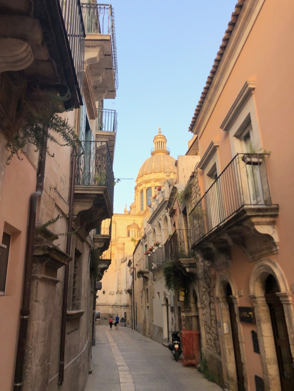 The main cathedral in Ragusa