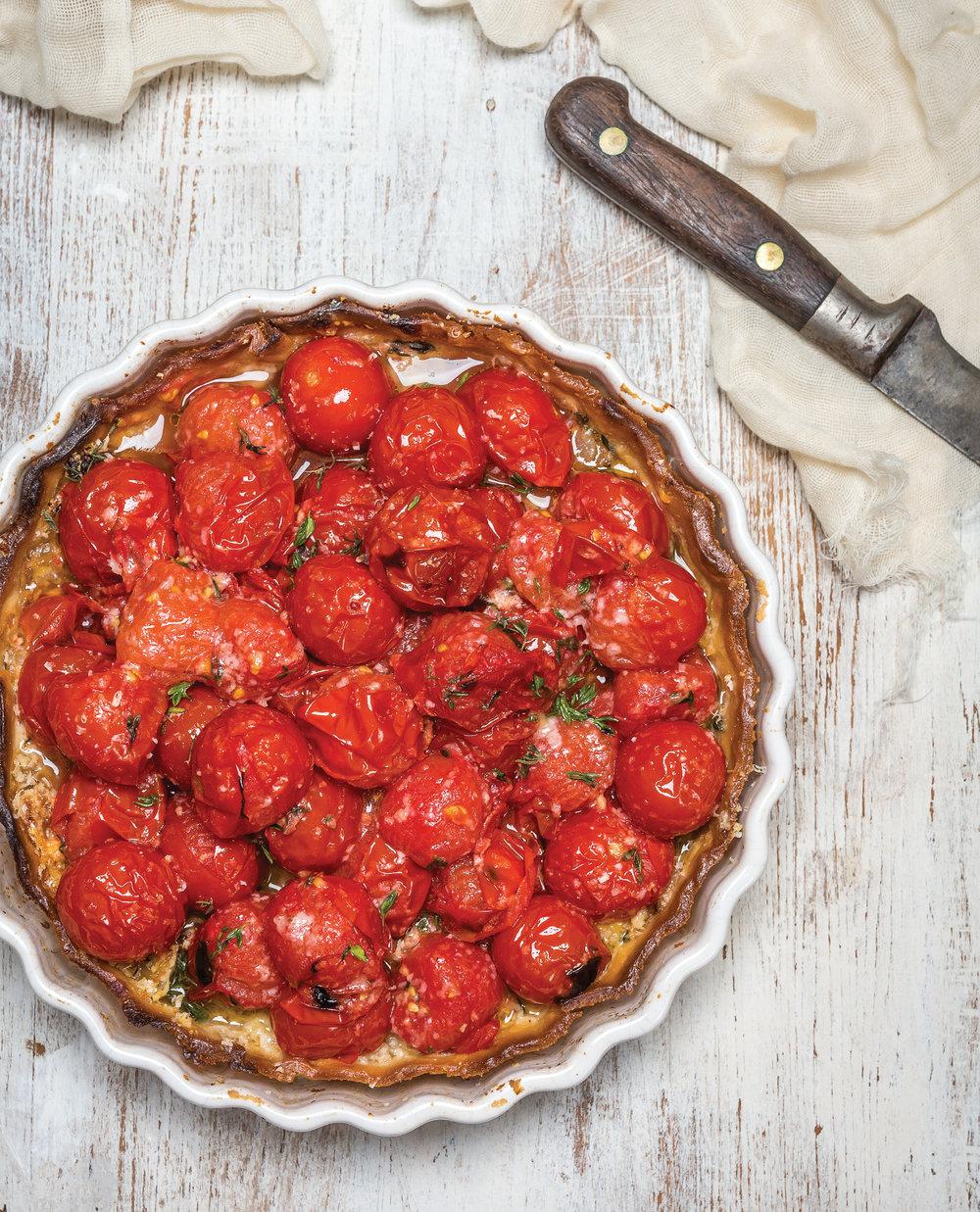 Cherry Tomato Tart - page116.jpg