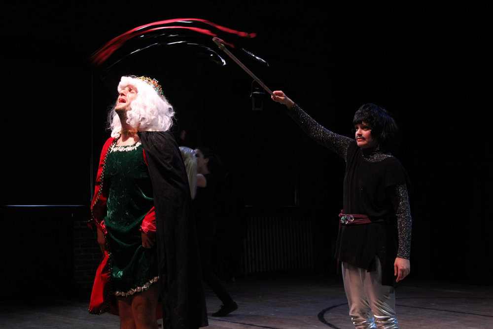 The Gay King in  Cavalcade of Dunces,  Photo by Lindsay Browning