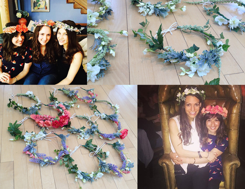 Flower Crowns - Bachelorette Pahhhty