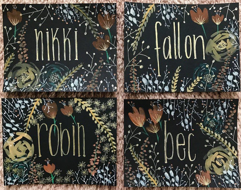 Custom HELLO cards