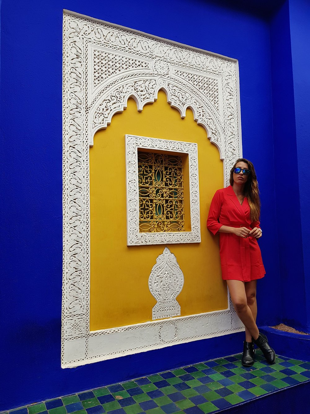 #3. Jardin Marjorelle & YSL - I love fashion so couldn't wait to go and visit the home and museum of the iconic Yves Saint Laurent. The Jardin Marjorelle was YSL's creation and home for many years where he designed many of his masterpieces. The garden is beautiful and so colourful with deep blues, yellows and reds. In fact Marjorelle Blue is the colour famous to Morocco which can be found all over the walls of the buildings. His museum is next door and well worth a visit to see his designs and get an understanding of the inspiration he took from Morocco's colours and cultureTop Tip: Get the ticket for the garden and the museum together - definitely worth it if you love fashion!