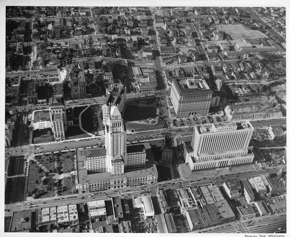 Lkg W. above City Hall, ca. 1940