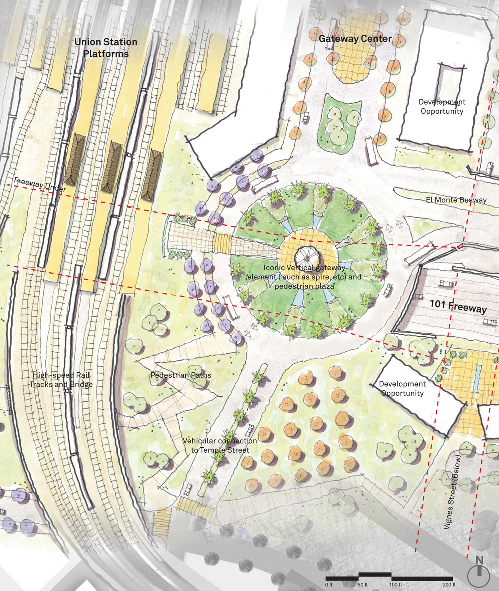 Gateway Center / Park Site Plan