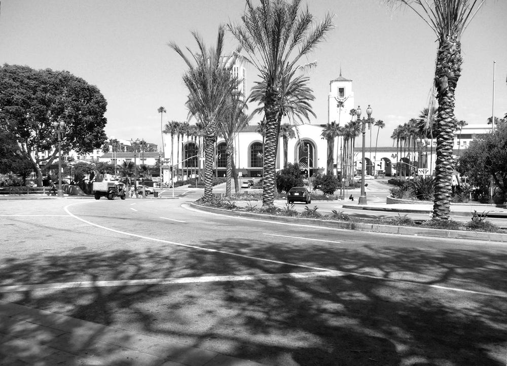 Union Station Promenade Before