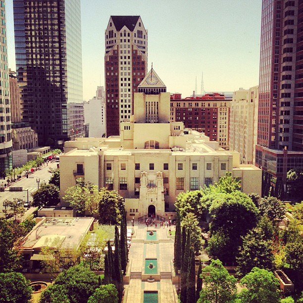 Maguire Gardens. Lets get more green space in #DTLA #Park101