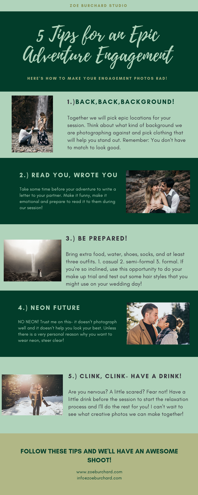 Engaged? - Need some advice for your session?I've got you covered!