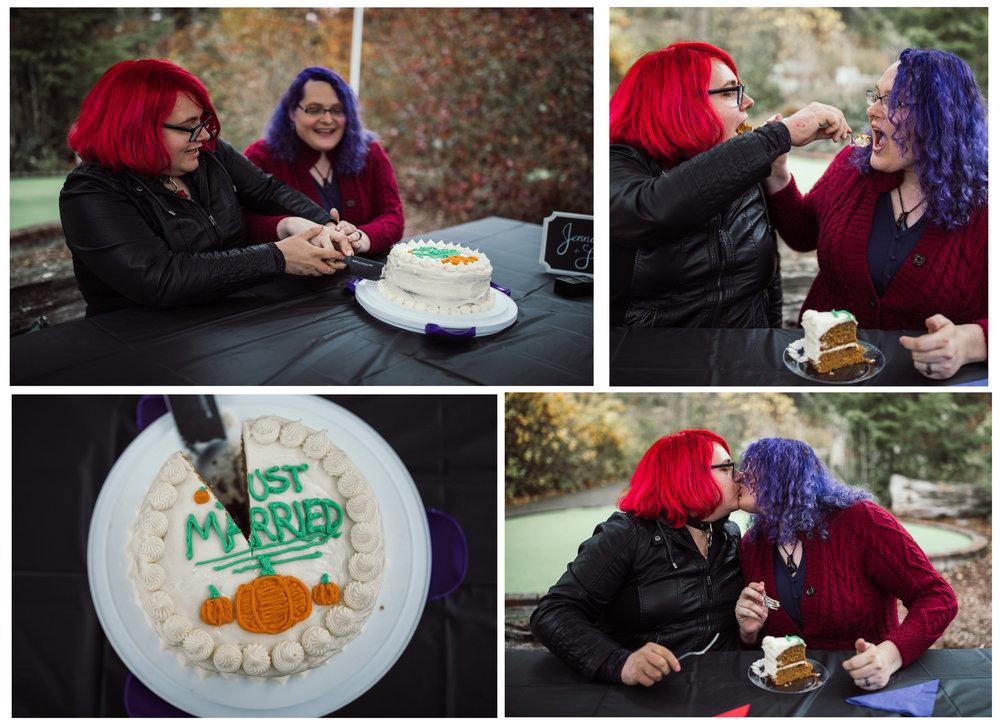 That is a pumpkin cake. A PUMPKIN CAKE!