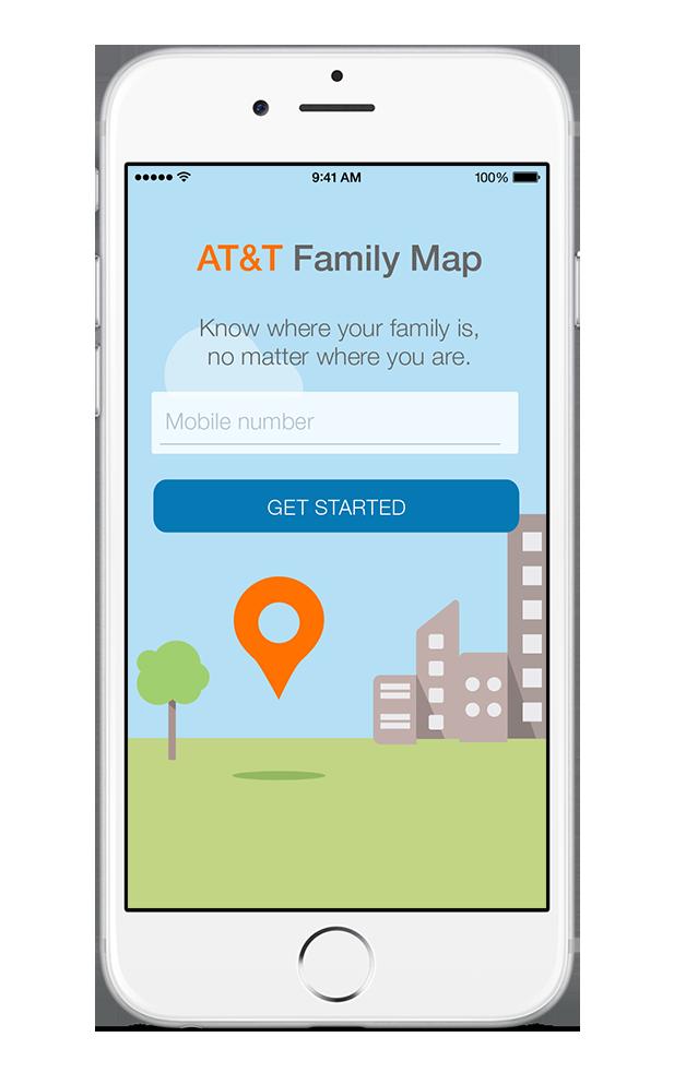 ATT Family Map Stephanie Haumueller - Att family map