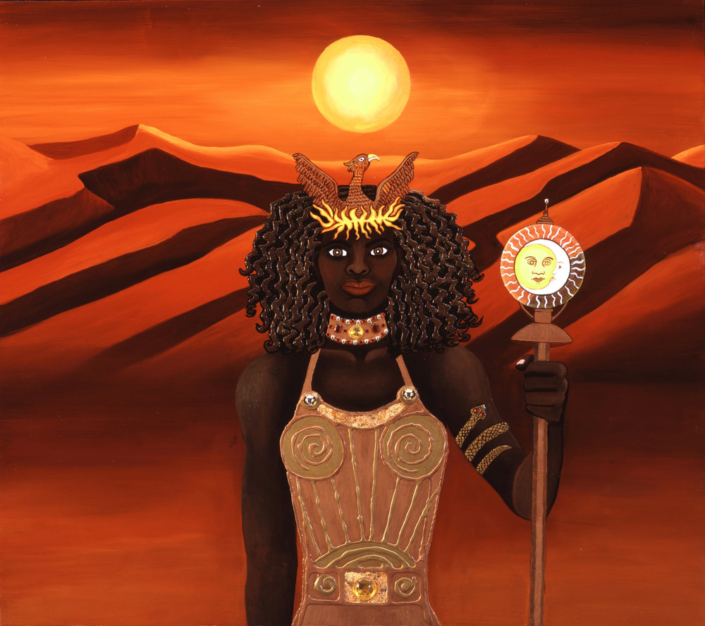 The Oracle, Return of Sun Goddess