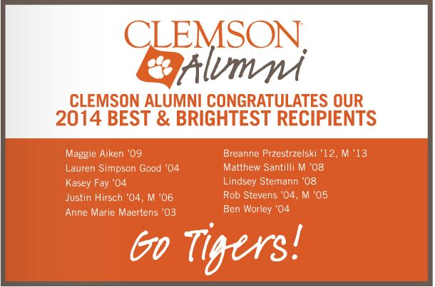 Clemson did an ad too -- proud to see how many Clemson Tigers won! #allinbaby!