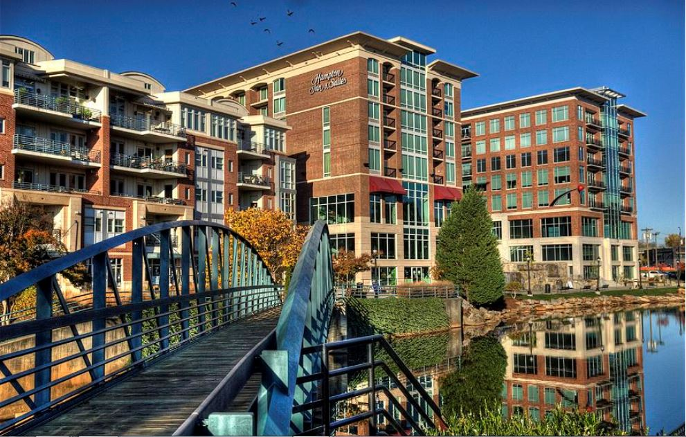 Beautiful Downtown Greenville is one of my favorite spots!