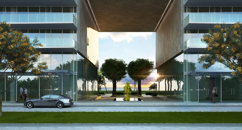 Breezeway with main art - Oceana Bal Harbour.jpg