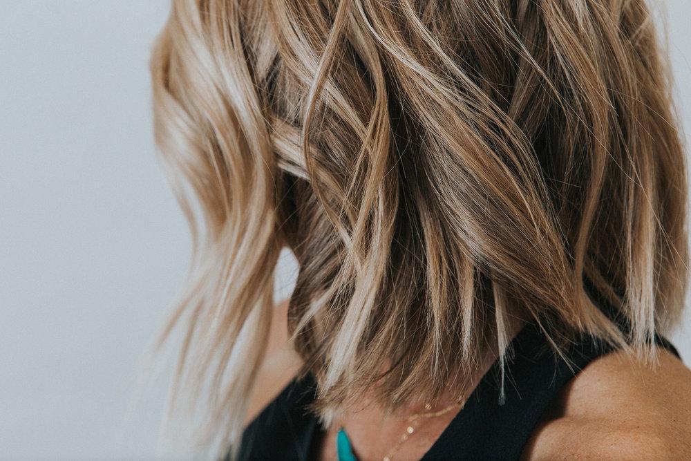 french hair cutting