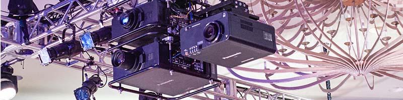 Panasonic PT-DZ21KU | Double Stack Truss Mount