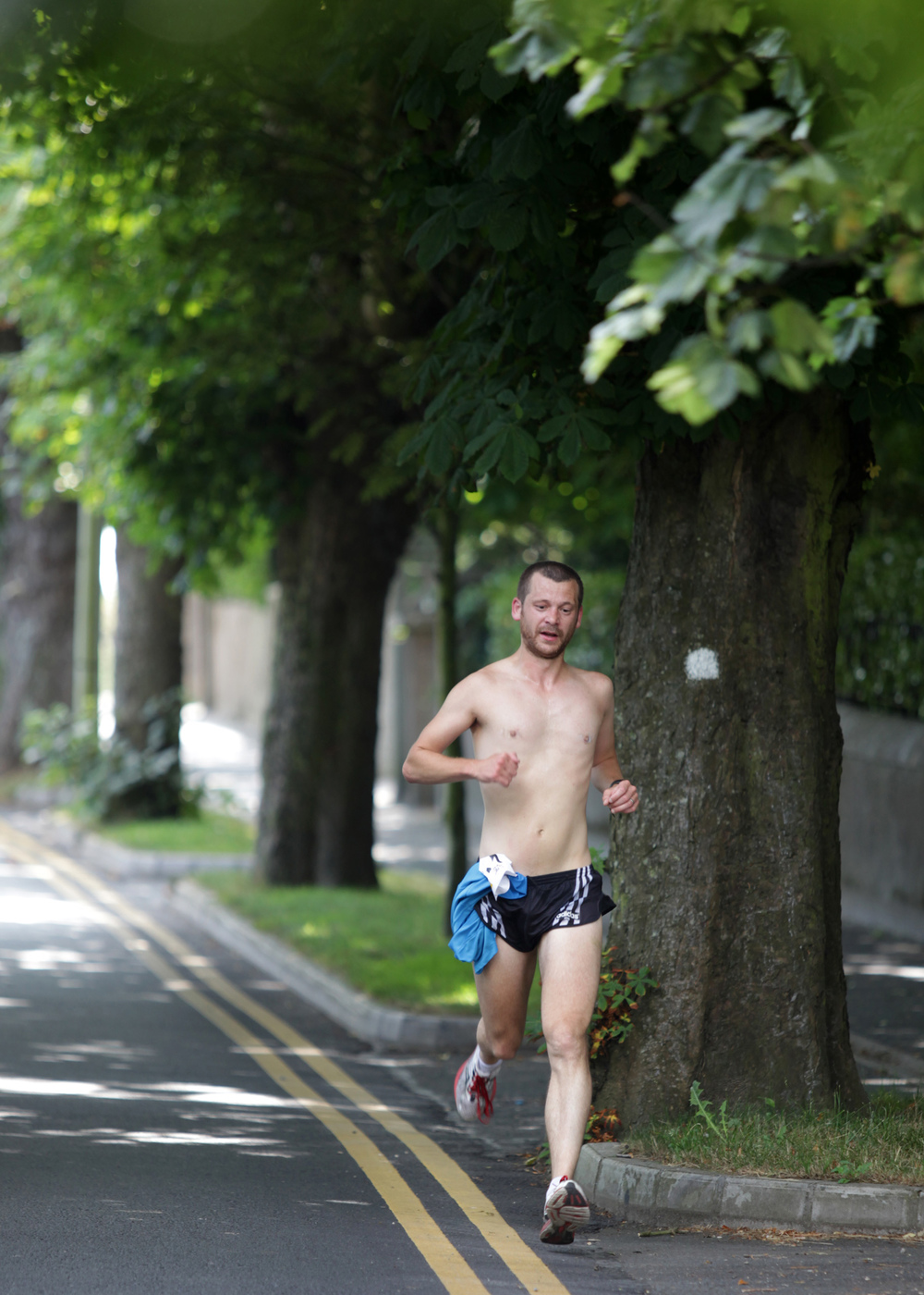 Delgany Running Club G10K around Greystones: Robert Carey who came in 2nd at 36.51