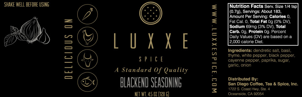 LUXXE SPICE Icon Design