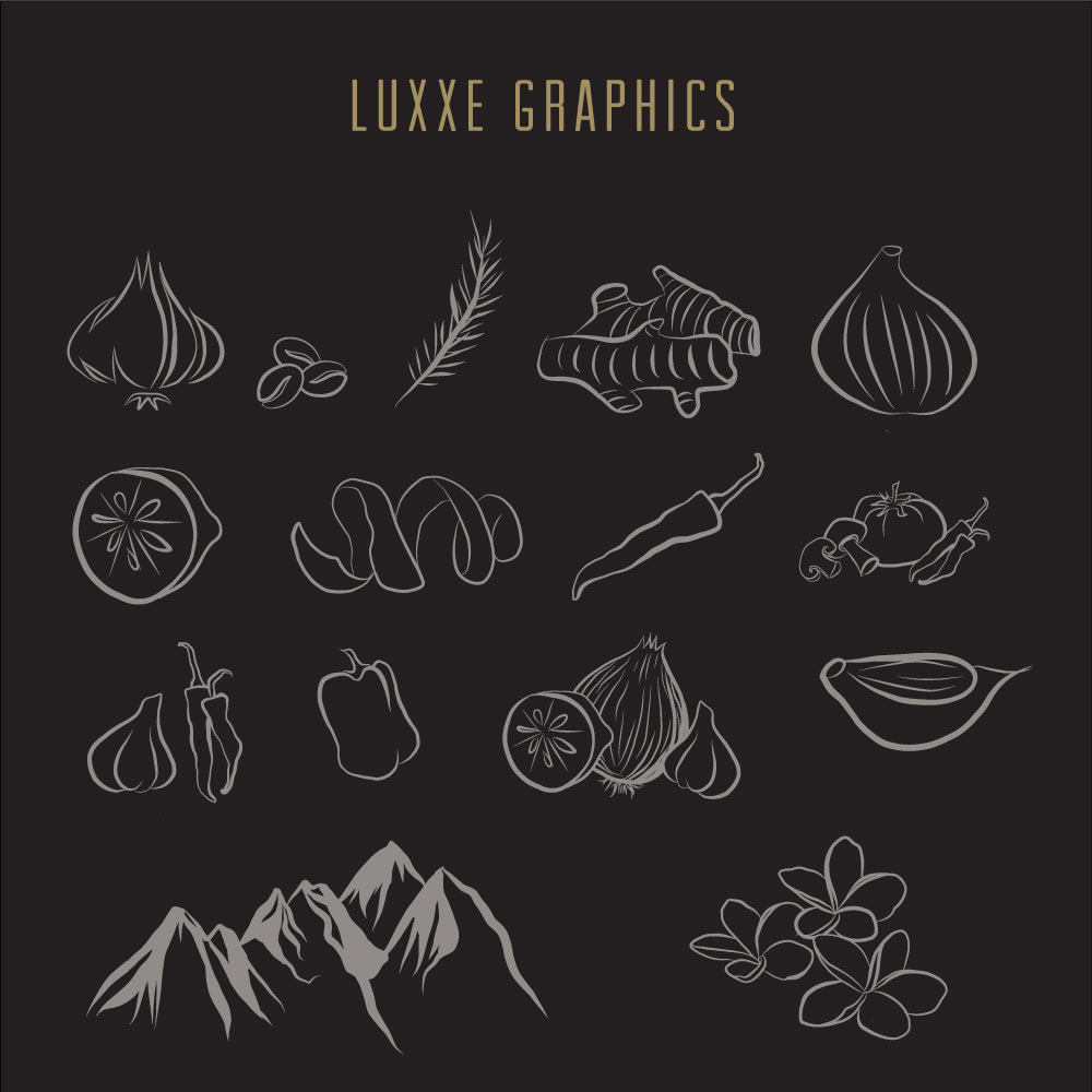 LUXXE SPICE Graphic Art