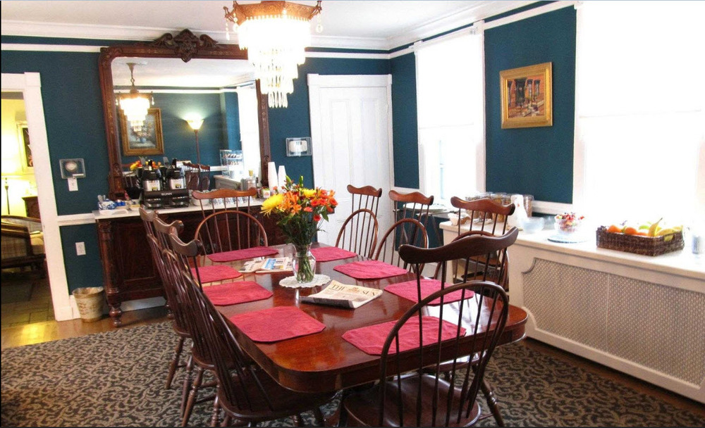 Gibson's Lodgings Patterson House Parlor