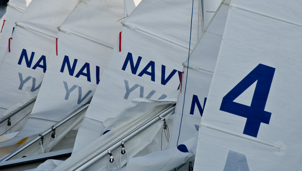 USNA Sailing Dinghies © Christine Edwards