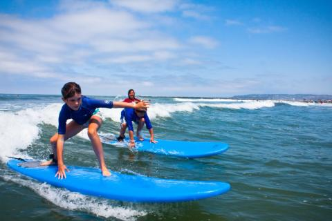 San Diego Surf Lessons with Ocean Experience Surf School