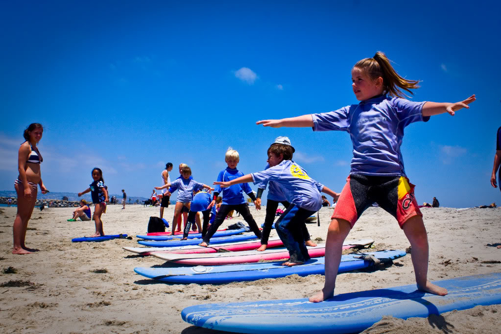San Diego Surfing Lessons with Ocean Experiences Surf School