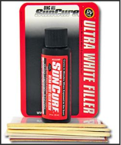 Ding All Sun Cure Polyester Ultra White Filler — Ocean Beach Surf and Skate  Shop