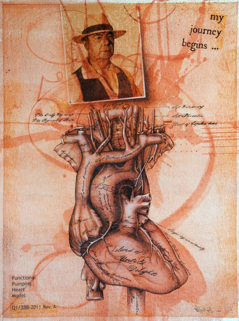 Functional Heart Pumping Model (Self Portrait 2011)