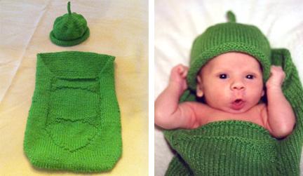 Pea Pod & Hat