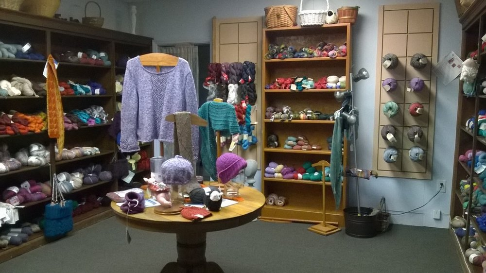 Our wool room is not just full of any old wool. There are so many amazing different blends. We have yak, alpaca, llama, and more!