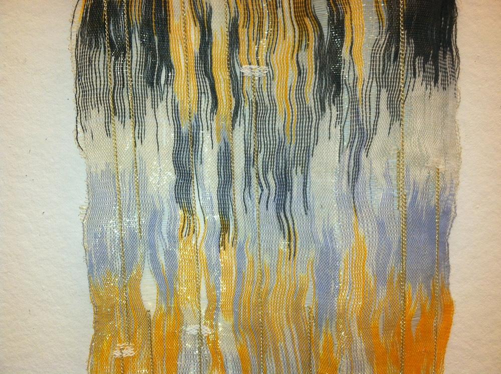 Wall Hanging, detail, Lillian Roberts-Gevalt, 2013