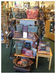 Maruca bags featured at Elysian Fields