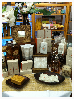 Elysian Fields carries a large selection of Thymes products