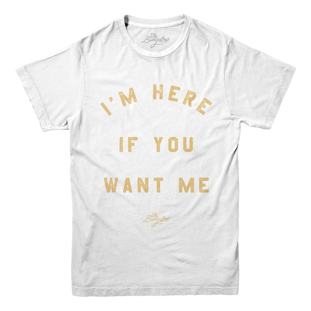 SS IF YOU WANT // WHITE