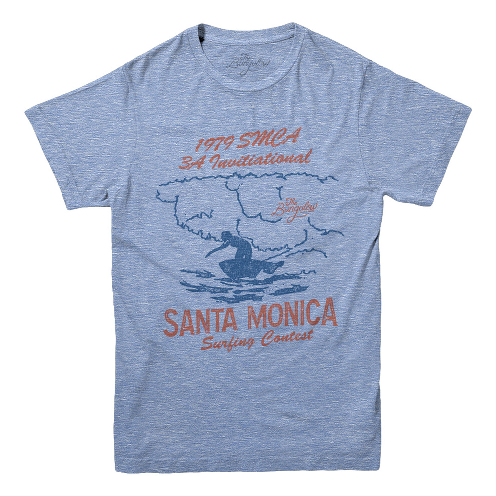 SS SURF CONTEST // LIGHT HEATHER BLUE