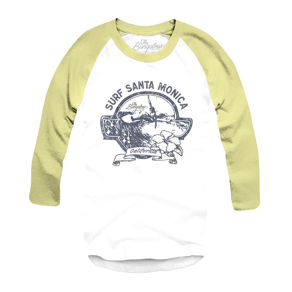 BASEBALL SURF SM // WHITE, YELLOW