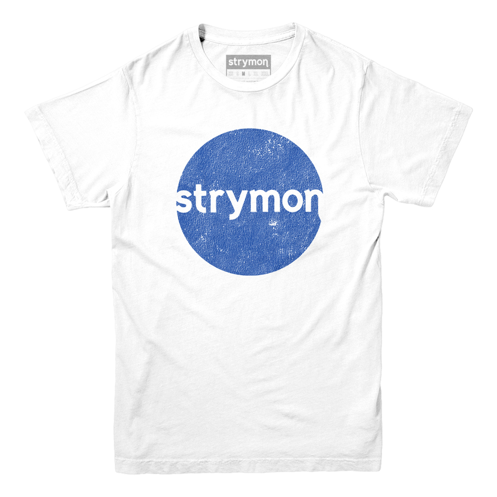 DISTRESSED CIRCLE [WHITE]
