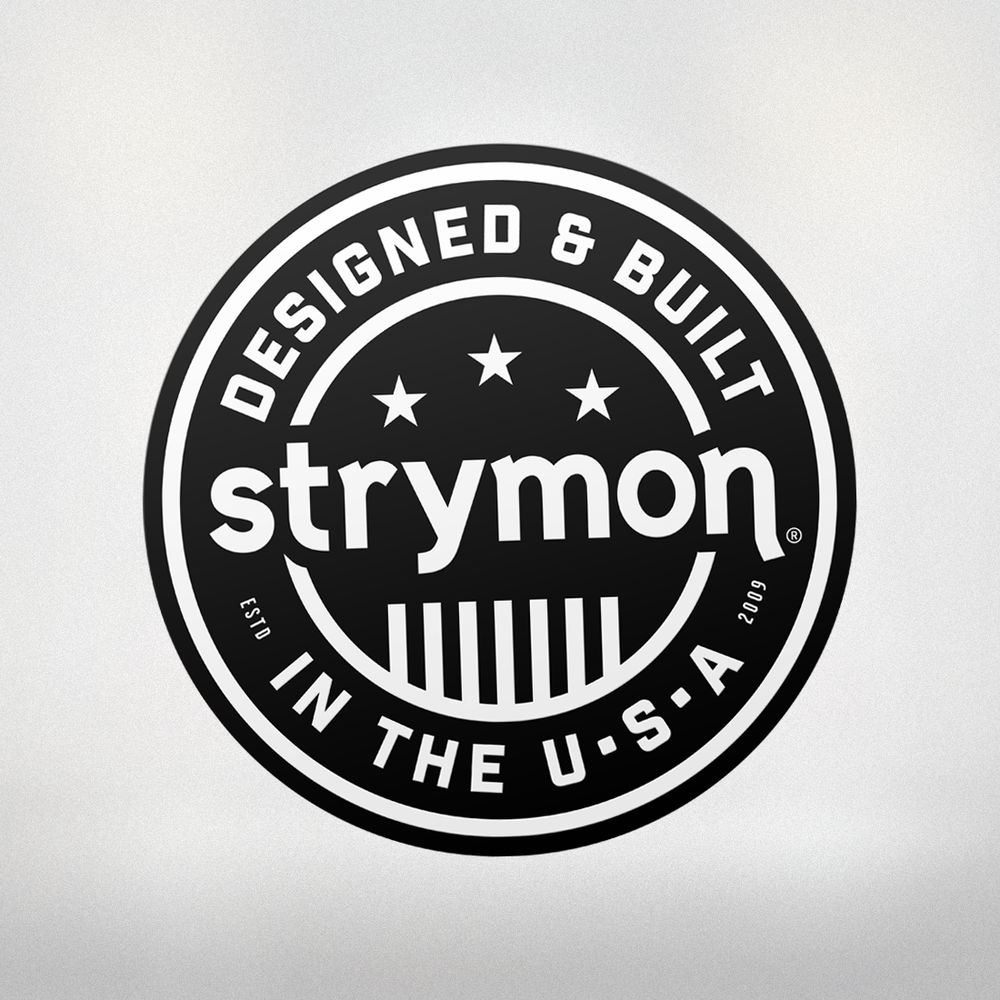 STRYMON USA STICKER